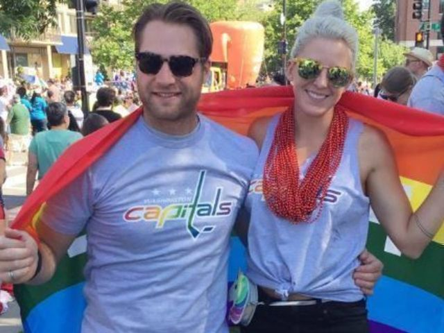 Holtby Marches In Capital Pride Parade For 2nd Straight Year Thescore Com