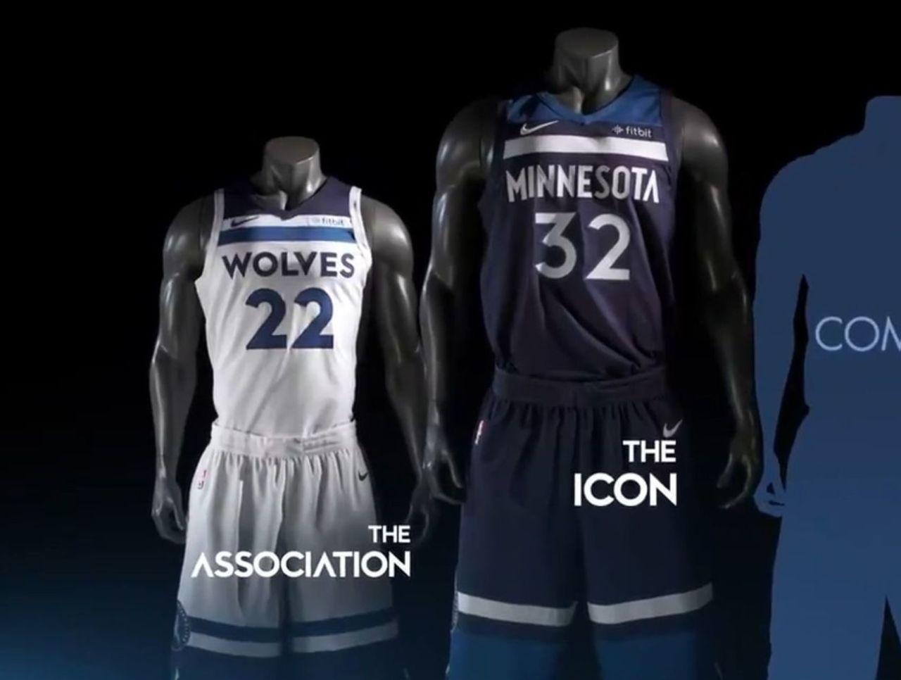 timberwolves nike jersey