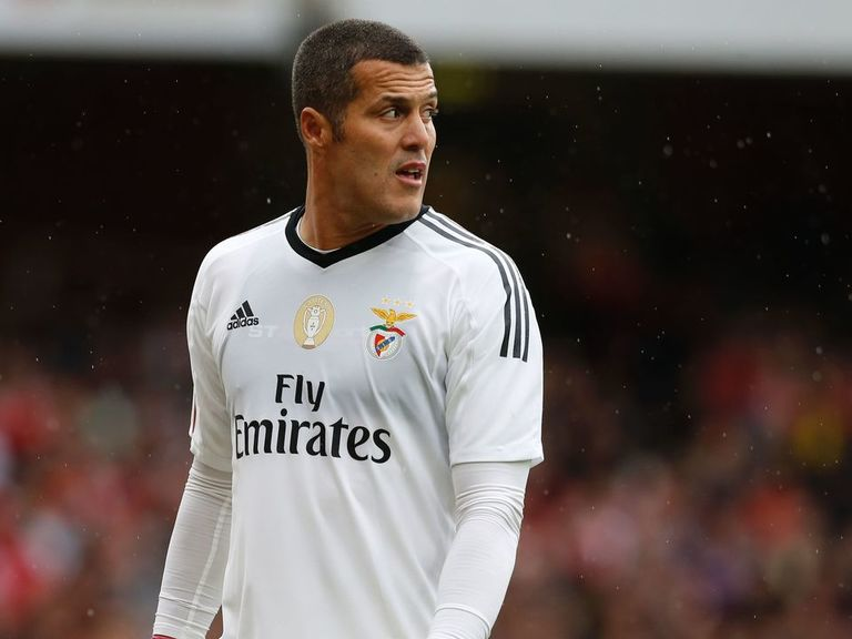 Julio Cesar terminates Benfica contract, expected to ...
