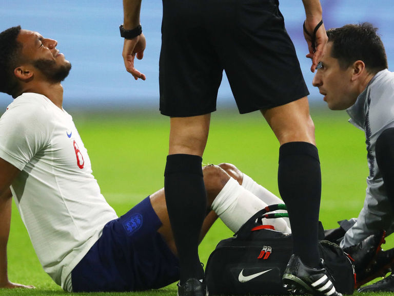 Liverpool's Gomez withdraws from England squad with ankle worry