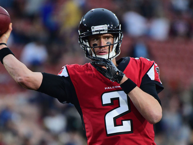 Week 12 player prop bets: Don't expect Matt Ryan to air it out