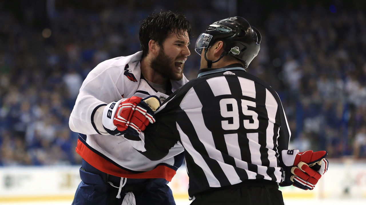 Caps Wilson Offered In Person Hearing For Hit On Sundqvist Thescore Com