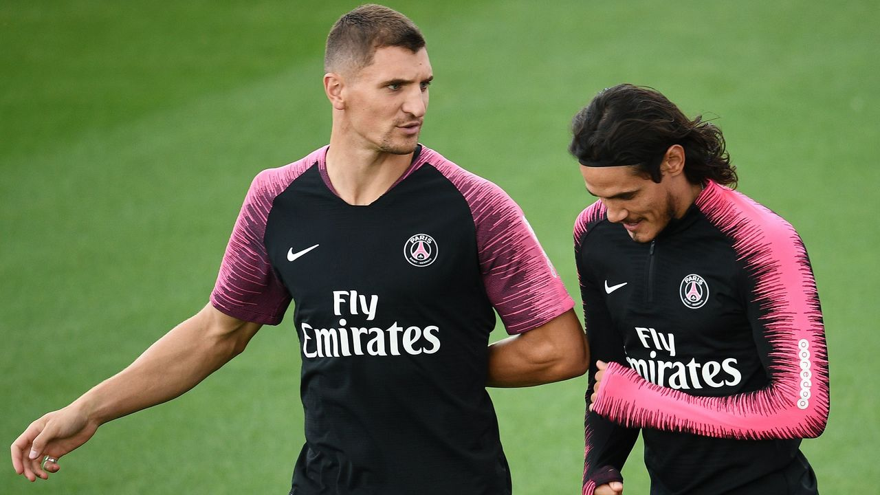 PSG's Cavani could miss United match, Meunier out with concussion ...