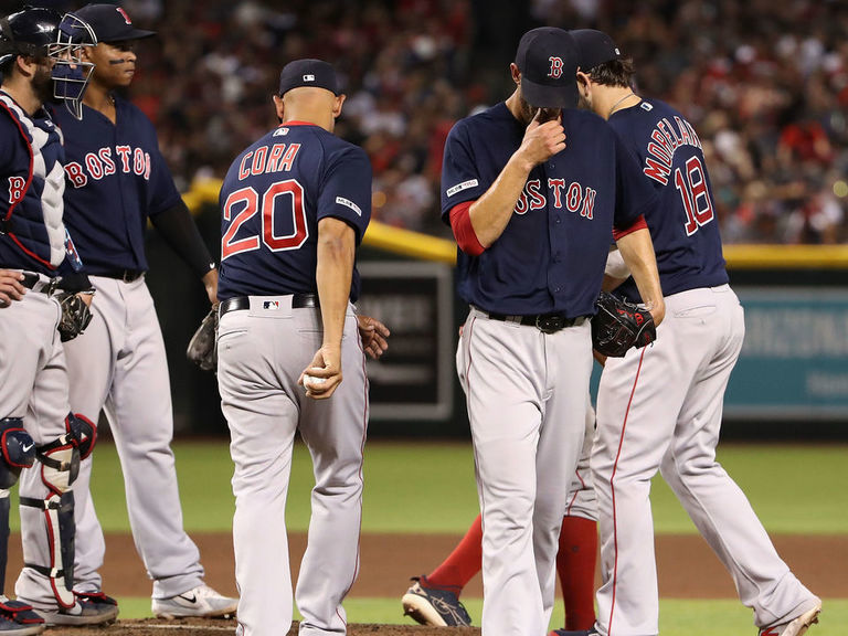 Porcello hurls cooler in dugout during Red Sox blowout loss
