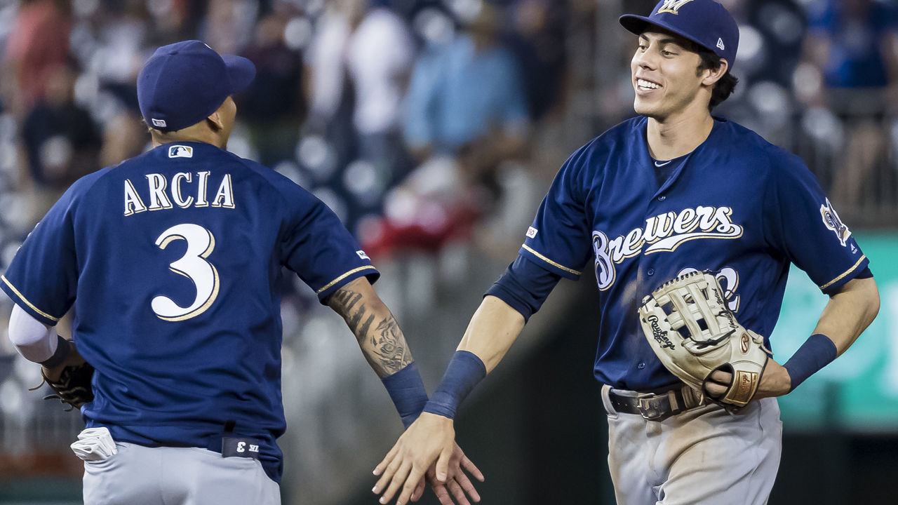 Christian Yelich trolls complaining fan with at-bat song