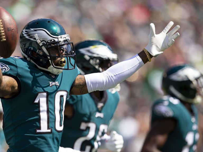 Eagles' Jackson: Players should wear mics if stadiums are empty