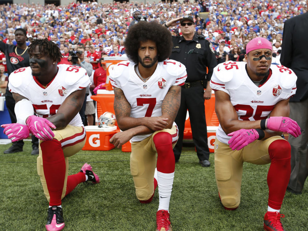 Ex-NFL spokesperson calls for Vikings to sign Kaepernick