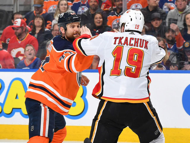 Tkachuk Fighting Kassian Was A Way To Stick Up For Myself Thescore Com