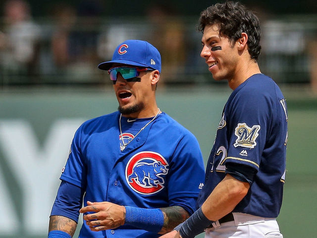 Cubs' Baez: Yelich's extension 'doesn't have anything to do with ...