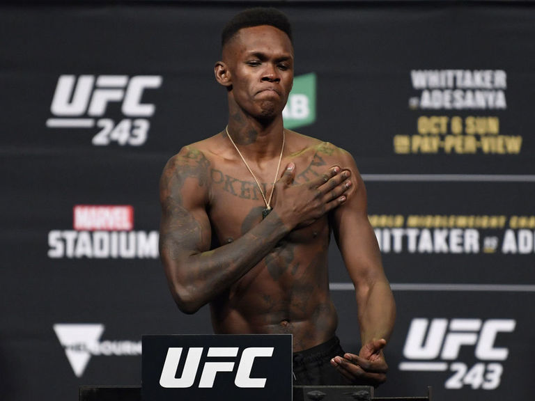 Adesanya down to fight on island: 'That would be f------ gangster'