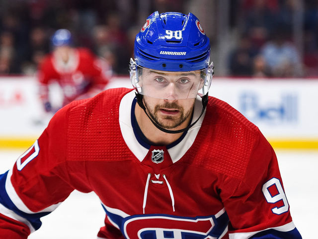 Canadiens Tatar Out Indefinitely With Upper Body Injury Thescore Com