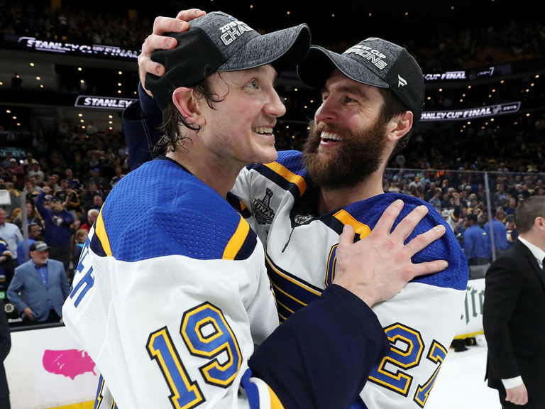 Pietrangelo: Bouwmeester doing well, 'out and about'