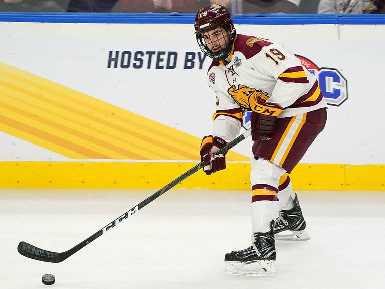 Rangers sign Justin Richards out of Minnesota Duluth