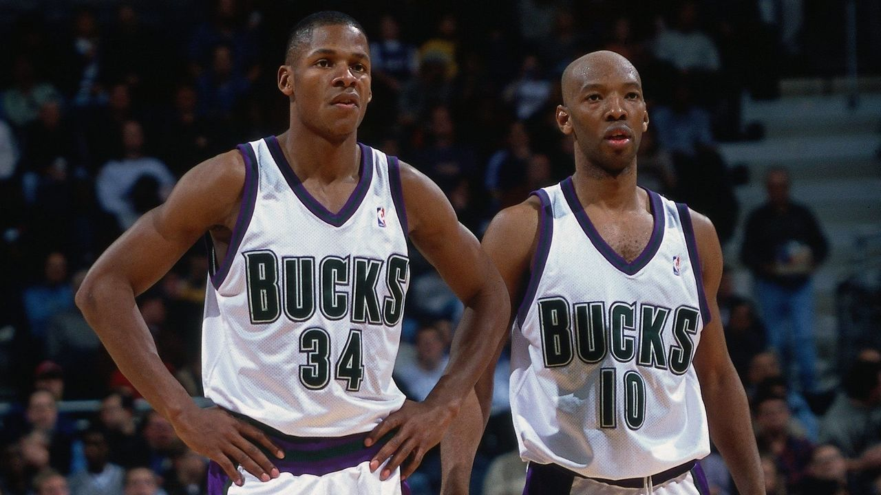 Ray Allen and Sam Cassell