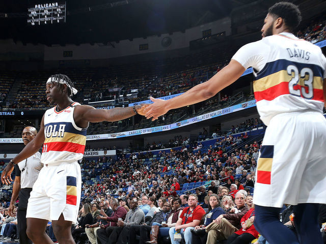 Ultimate 5 The Best Pelicans Lineup Since 95 Thescore Com