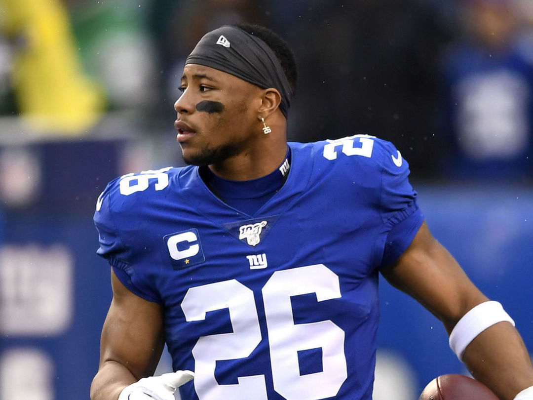 Report: Giants fear Barkley suffered torn ACL