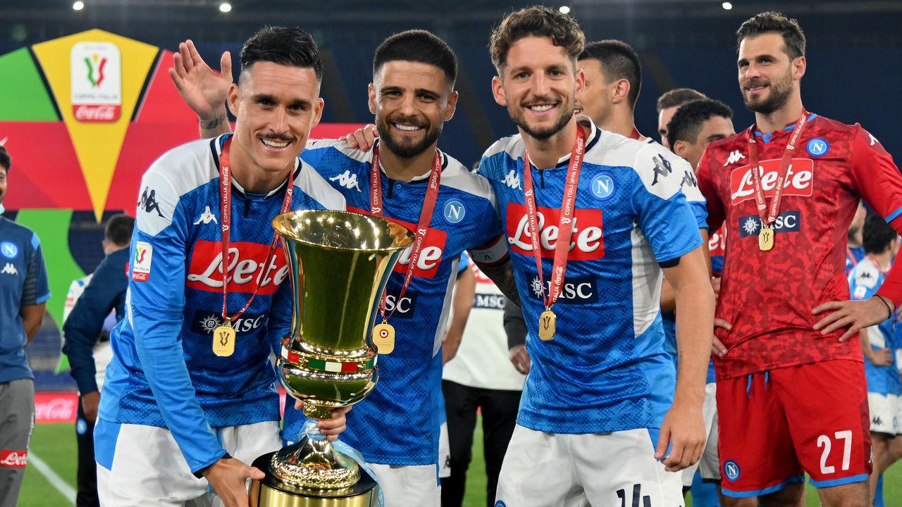 Napoli Sink Juventus On Penalties To Win Coppa Italia Thescore Com