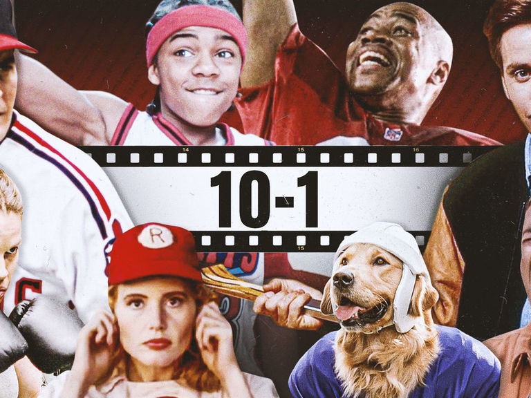 Greatest sports movie characters: The top 100 reaches its climax
