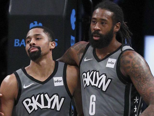 Nets' Jordan out for restart after he, Dinwiddie test positive for ...