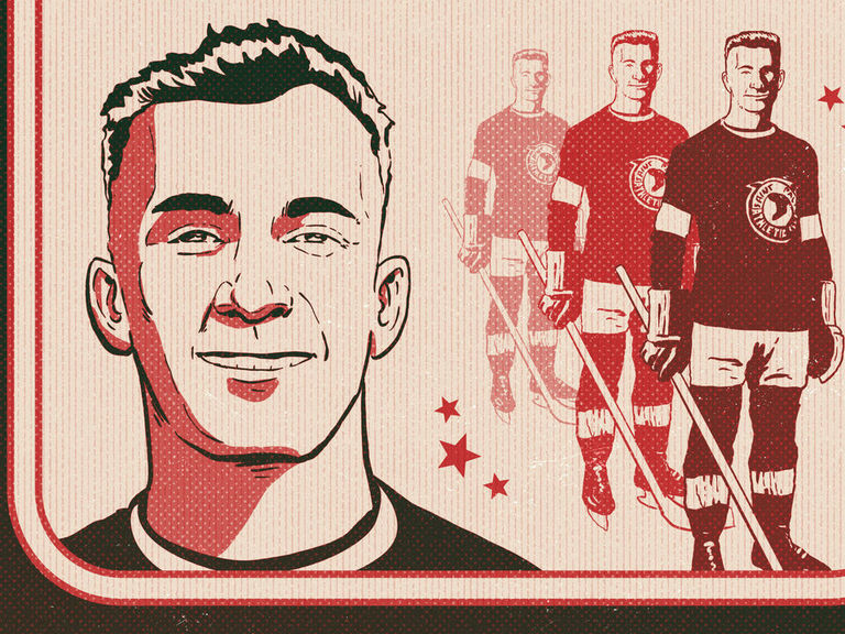 The dazzling, forgotten hockey hero who rejected the NHL