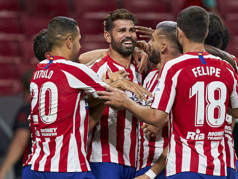 Costa header secures Champions League place for Atletico Madrid
