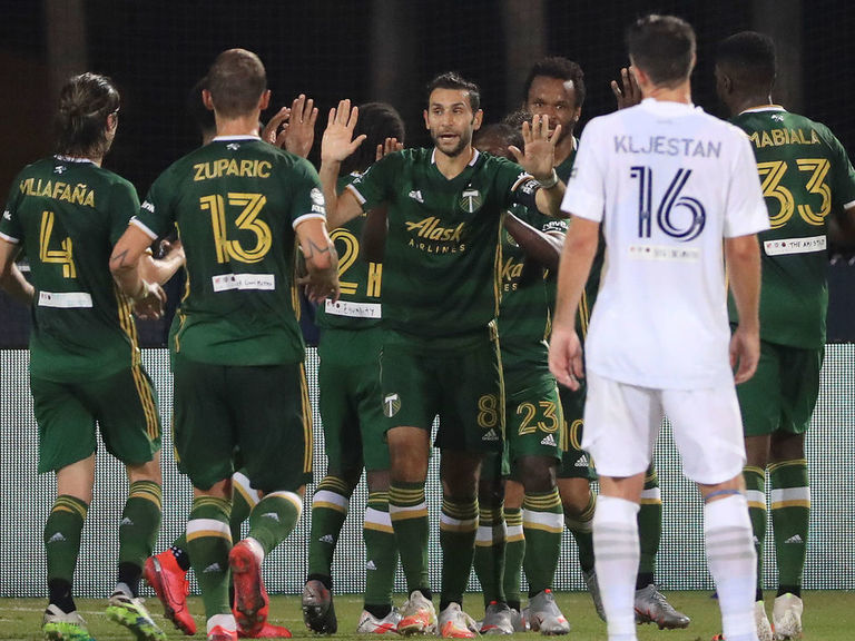Timbers outlast Galaxy as Chicharito rues missed opportunities