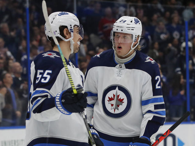 Laine Scheifele Out For Game 2 Vs Flames Thescore Com
