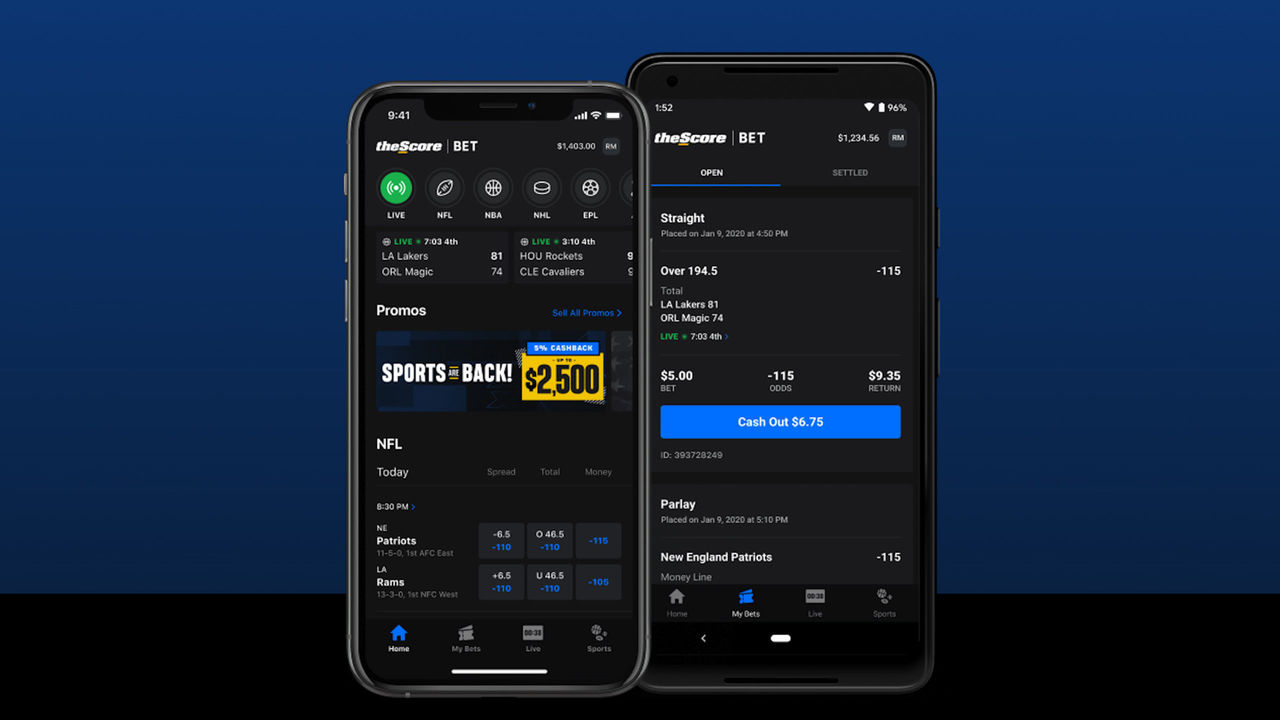 Thescore betting world sport betting com