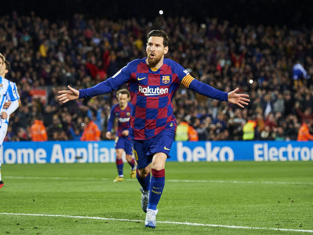 Fifa 21 Ratings Messi Edges Ronaldo Again As Top 100 Players Are Unveiled Thescore Com
