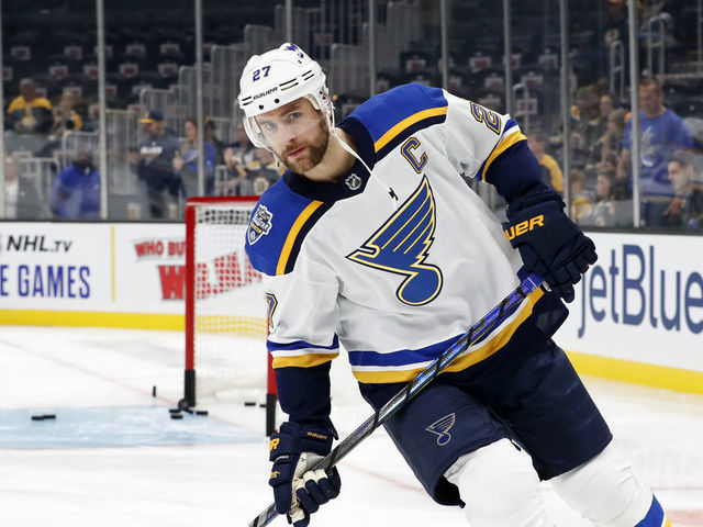 Pietrangelo Lack Of Deal With Blues A Little Disappointing Thescore Com