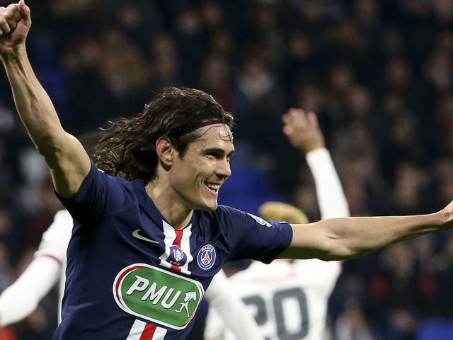 Report Record Psg Scorer Cavani Agrees To Join Manchester United Thescore Com