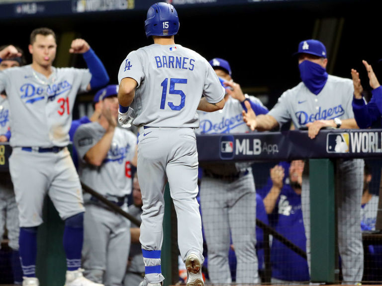 Buehler, Barnes lead Dodgers to Game 3 win over Rays