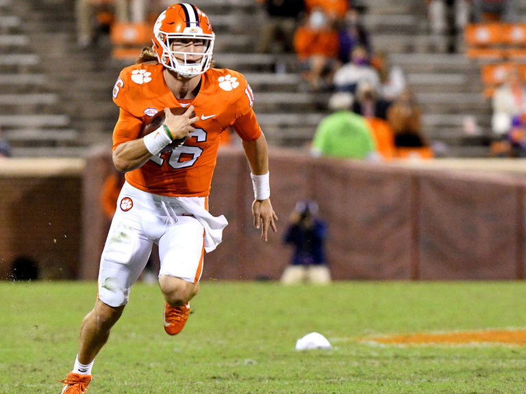 No. 1 Clemson survives early scare to pull away from Syracuse
