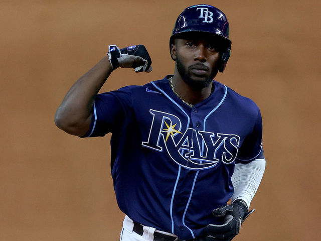 rays arozarena sets record for most hrs in single postseason thescore com rays arozarena sets record for most