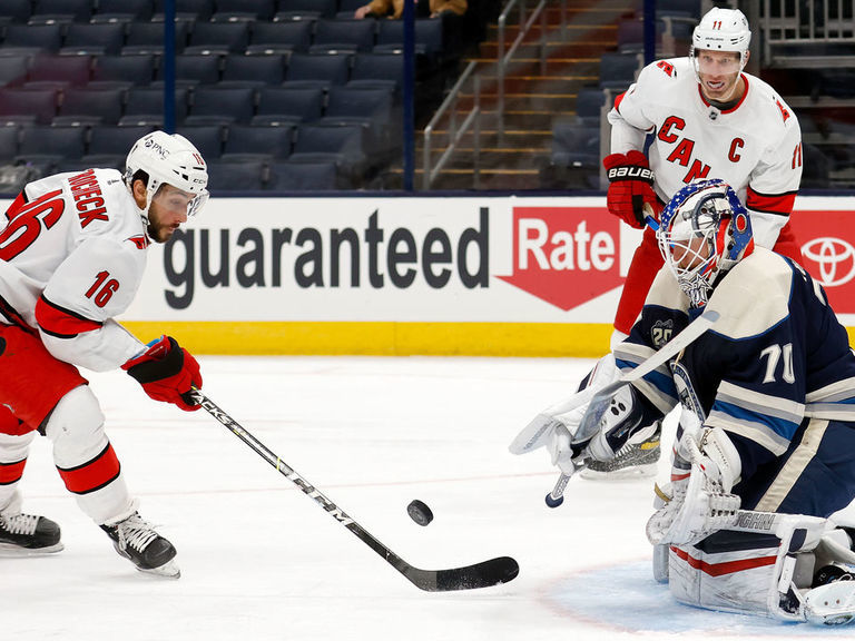Trainee caused botched goal ruling in Blue Jackets-Hurricanes game - theScore