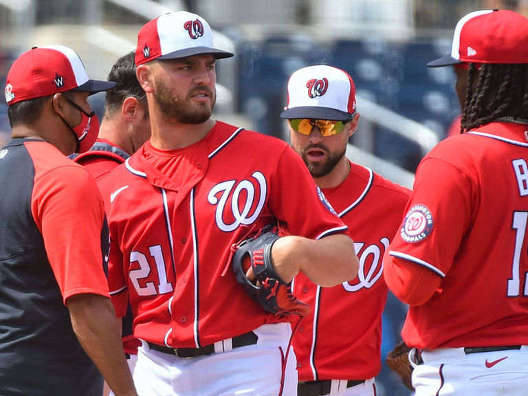 Nationals don't know when they'll play after 2 more players test positive