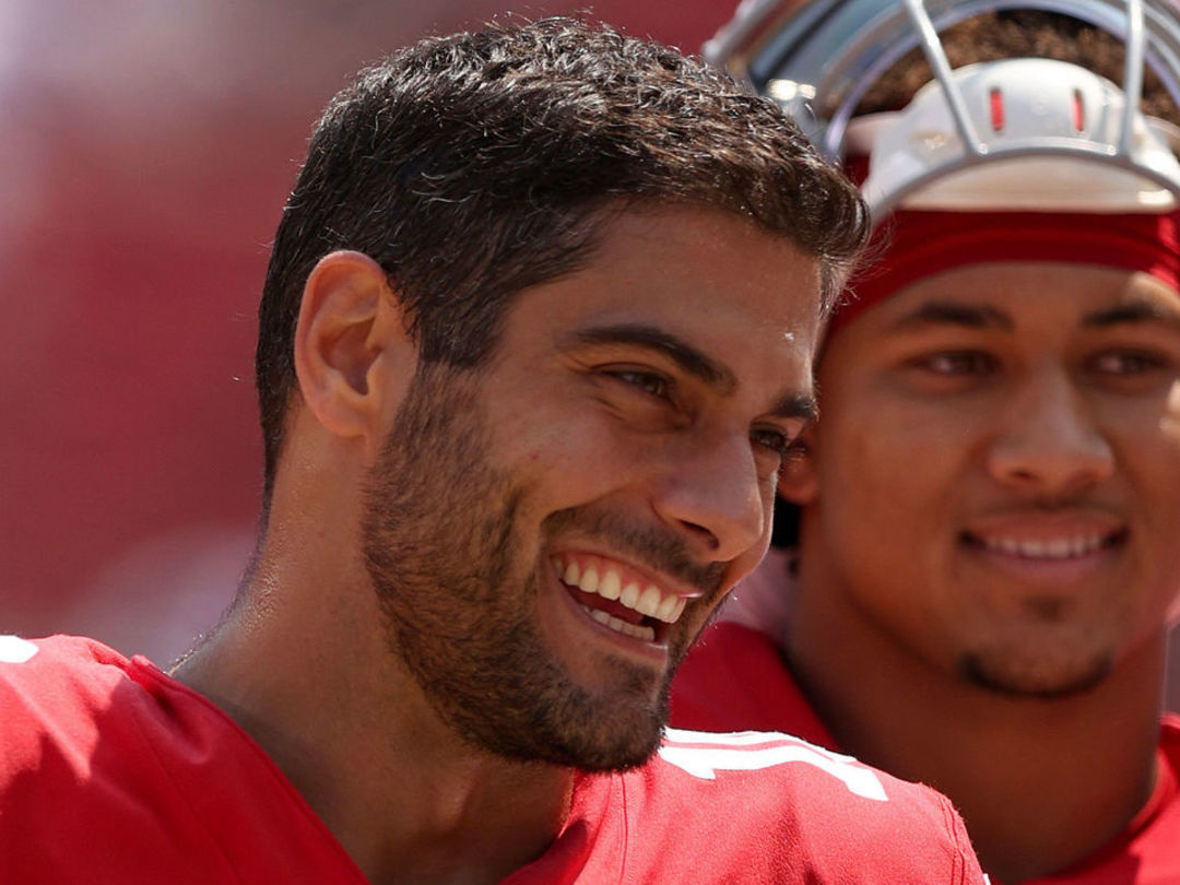 Garoppolo to start SNF vs. Colts, Lance ruled out due to knee injury
